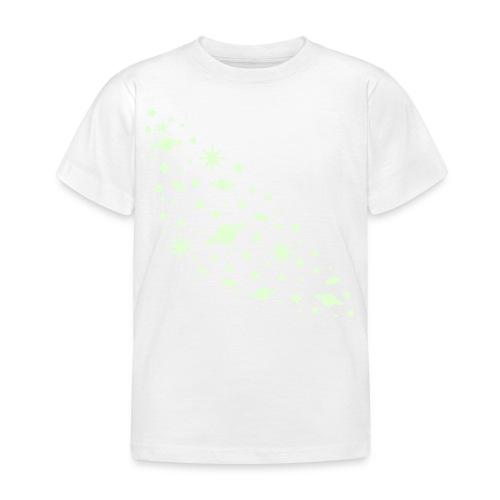 yellowibis galaxy1 vec - Kids' T-Shirt