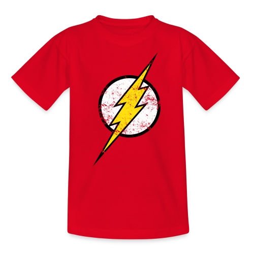 DC Comics Justice League Flash Logo - Kinder T-Shirt