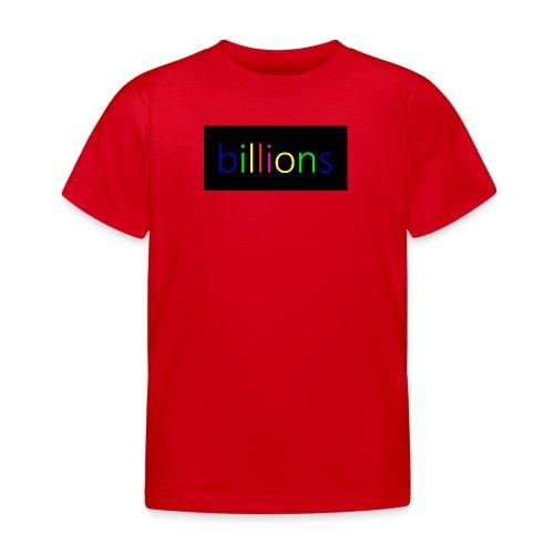billions - Kinderen T-shirt