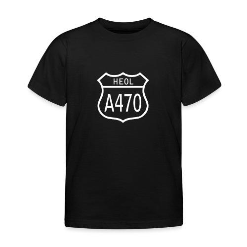 A470 HEOL - Kids' T-Shirt