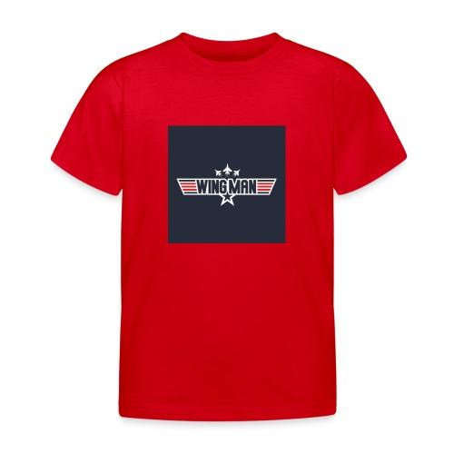 top gun wingman design - Camiseta niño