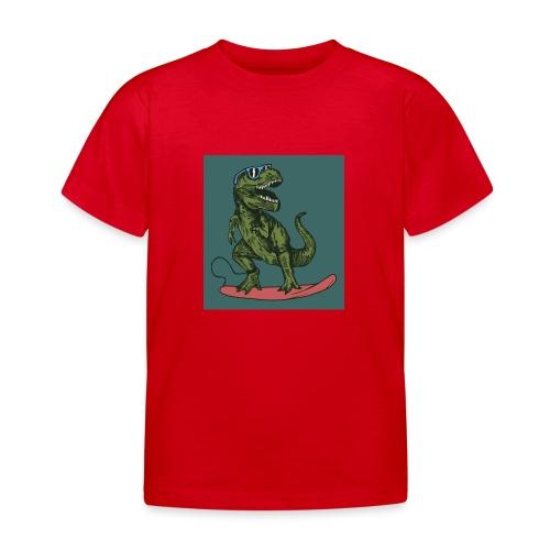 T-rex qui fait du surf - T-shirt Enfant