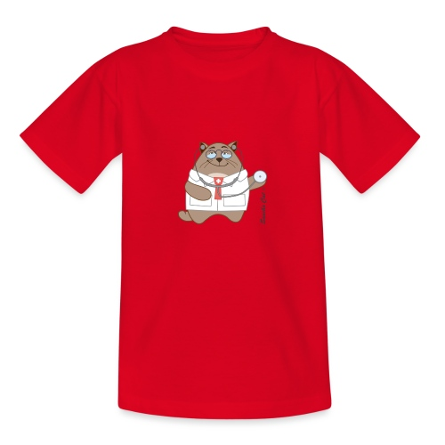 Katzen Arzt - Sancho Cat © - Kinder T-Shirt