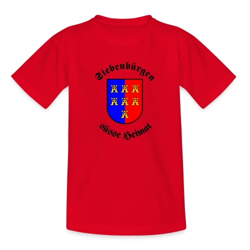 Siebenbürgen suesse Heimat - Wappen der - Kinder T-Shirt