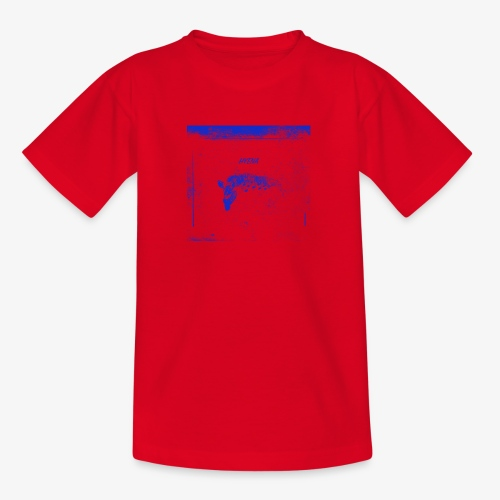 Hyena Blue - T-shirt barn