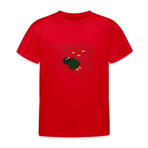Pingouin Bullet Time - T-shirt Enfant