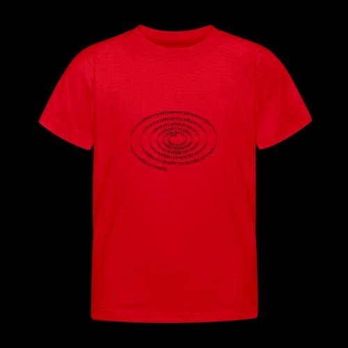 spiral tattvamasi - Kinder T-Shirt