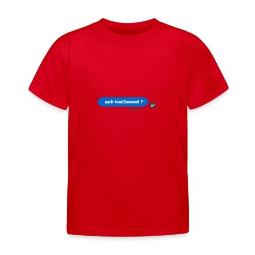 ach kat3awed messenger - T-shirt Enfant