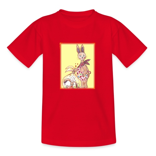 HäschenMama - Kinder T-Shirt