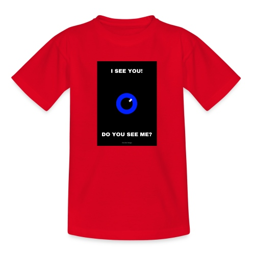 I SEE YOU! DO YOU SEE ME? - T-shirt barn