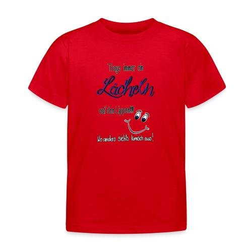 Lächeln - Kinder T-Shirt