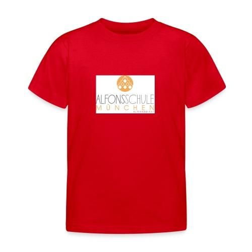 logo-alfonsschule_test - Kinder T-Shirt