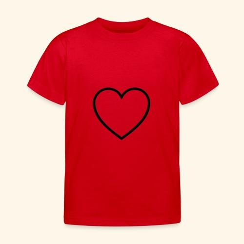 heart 512 - Børne-T-shirt