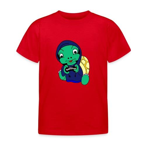 Hoodie gamer schildpad - Kinderen T-shirt