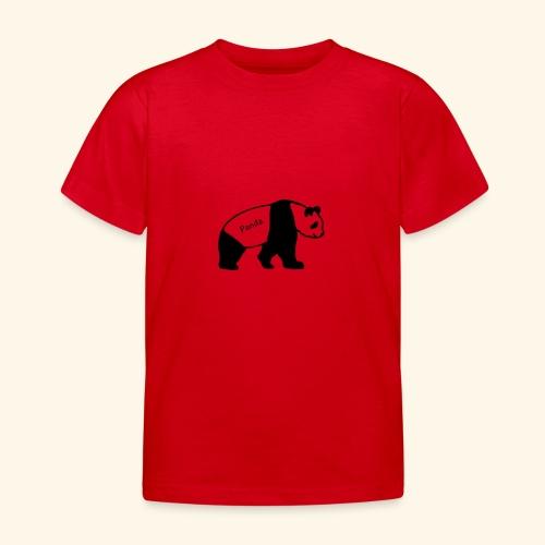Panda - Kinder T-Shirt