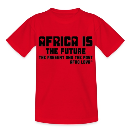 Africa is - Noir - T-shirt Enfant