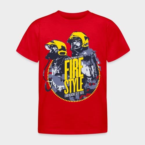Firestyle 1 - Kinder T-Shirt