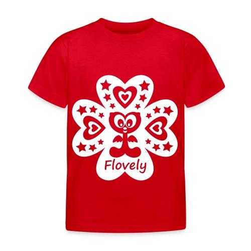 Flovely Glückspilz - Kinder T-Shirt