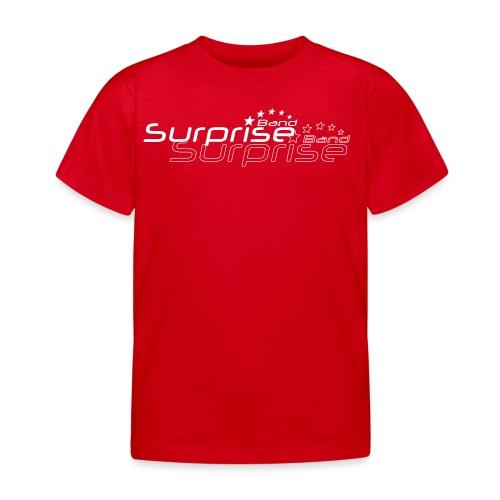 Logo Suprise Band mit Cut-Out - Kinder T-Shirt