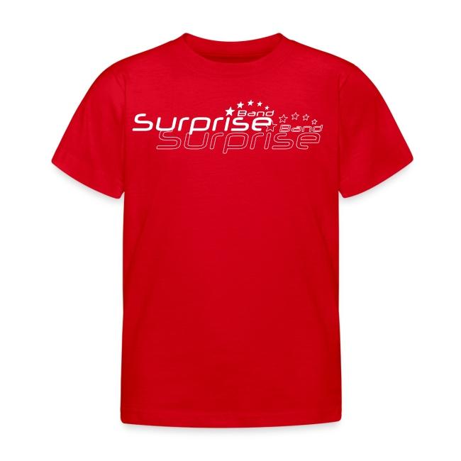 Logo Suprise Band mit Cut-Out