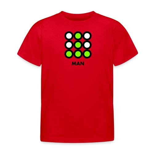 Man - Maglietta per bambini