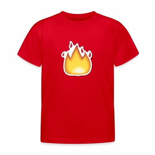 Liekkikuviollinen vaate - Lasten t-paita