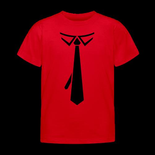 Krawatte Schlips Anzug zur Promotion - Kinder T-Shirt