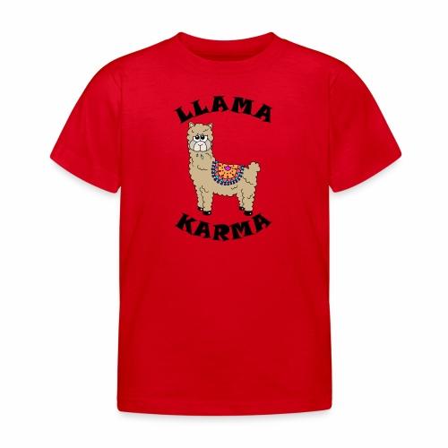 Llama Karma - Kids' T-Shirt