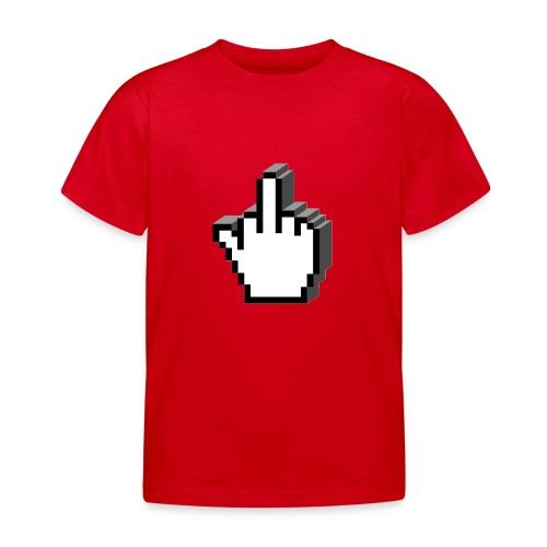 Middle_Finger_Design - Kids' T-Shirt