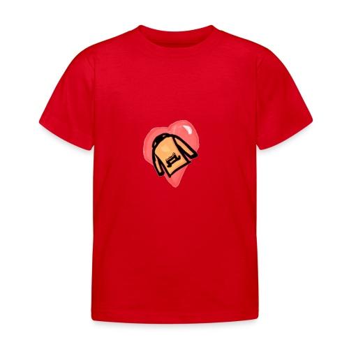 Orange I <3 Hoodies - T-shirt barn