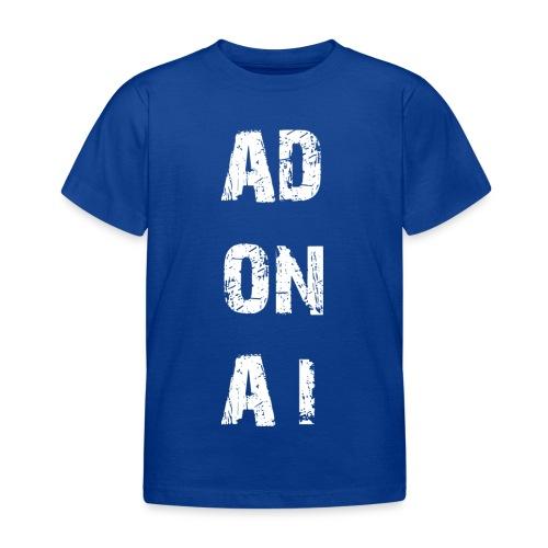 AD ON AI - Kinder T-Shirt