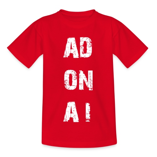 AD ON AI - Kinder T-Shirt