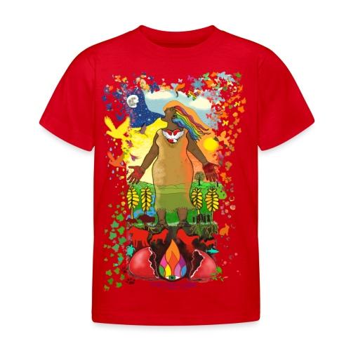 Mother Earth Creating - Kinderen T-shirt