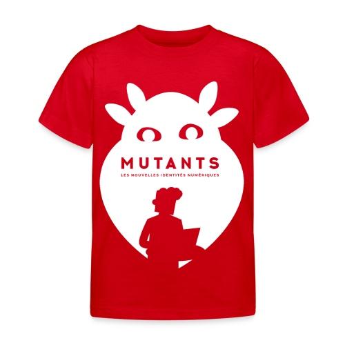 mutant H blanc - T-shirt Enfant
