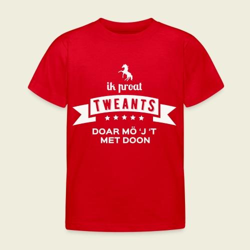 Ik proat Tweants...(lichte tekst) - Kinderen T-shirt