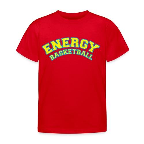 eco logo energy basketball giallo - Maglietta per bambini