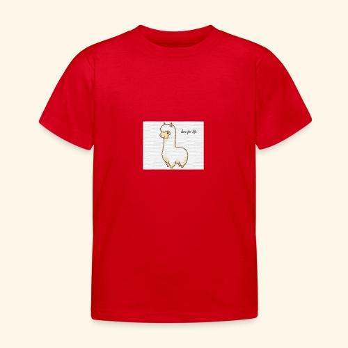 lama / alpaca - Kinder T-Shirt