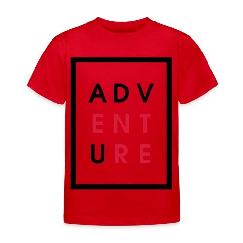 Enter Adventure - Kids' T-Shirt
