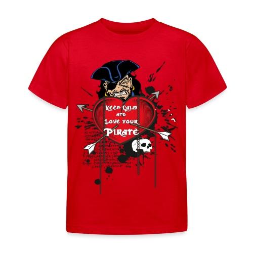 love your pirate - Maglietta per bambini