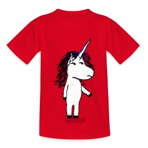 Angry unicorn - Kids' T-Shirt