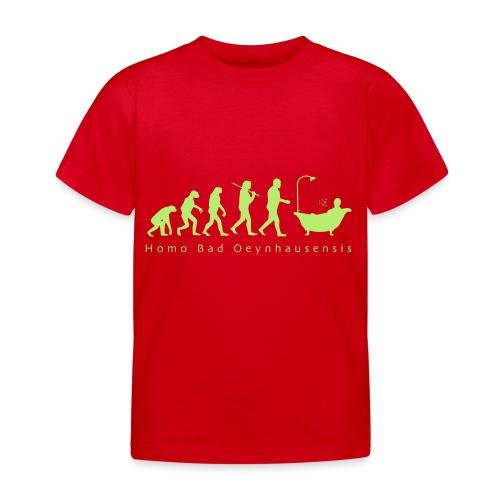 Kurstadt-Evolution BUNT - Kinder T-Shirt