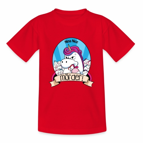 Murder Unicorn - Kinder T-Shirt