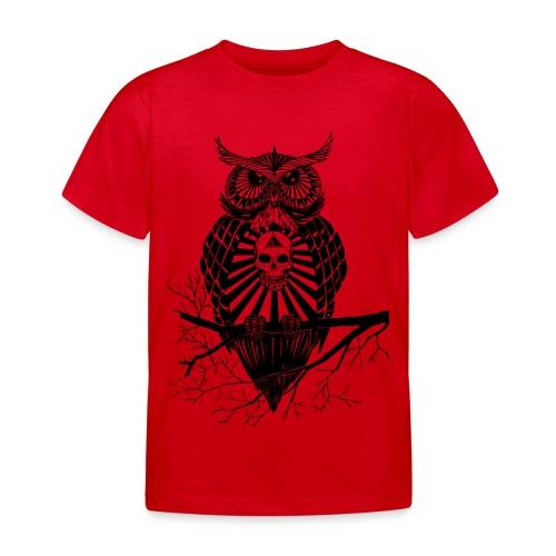 Hibou Psychédélique - T-shirt Enfant