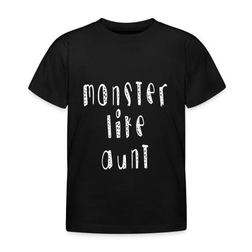 Aunt - Lasten t-paita