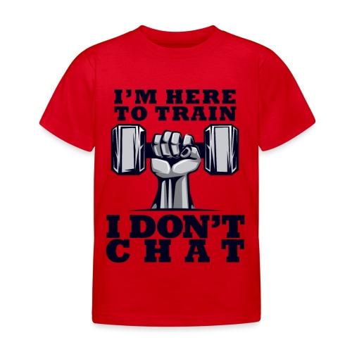 Train Chat - Lasten t-paita