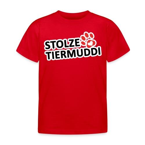 stolzetiermuddi png - Kinder T-Shirt