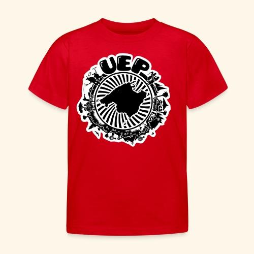 UEP white background - Kids' T-Shirt