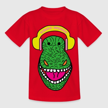 Croc Music - Kids' T-Shirt