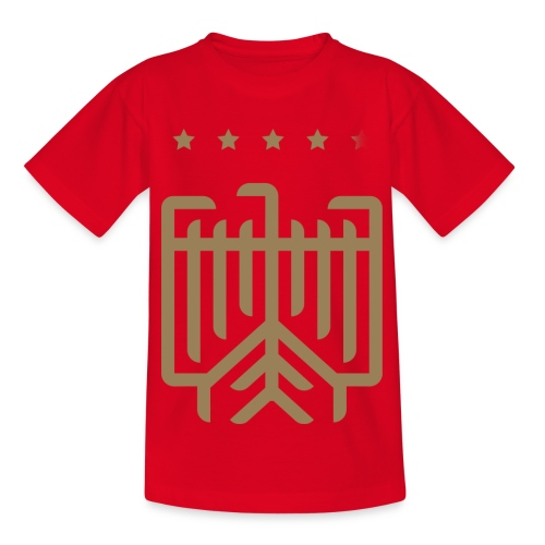 Deutsches WM T-Shirt (gold) - Kinder T-Shirt