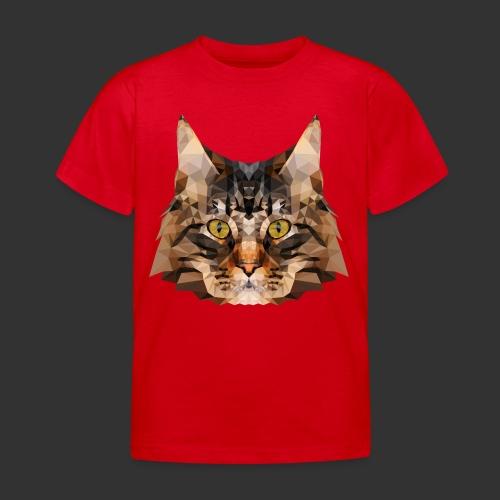 Chat LowPoly - T-shirt Enfant